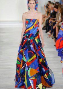 Skriv ut stroppeløs kjole