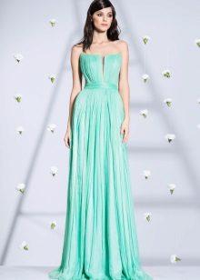 Kristalini stroppeløs kjole