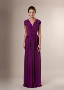 Jersey queimado vestido
