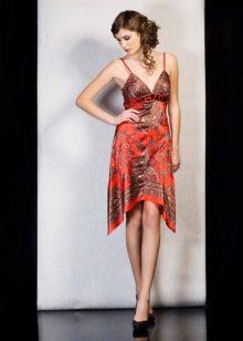 O rochie de la șalurile Pavloposad pentru a face cel mai mult