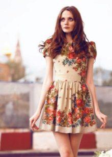 Șal scurtă A-line rochie