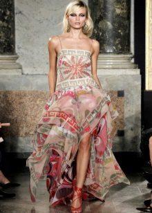 Rochie de vară de șaluri