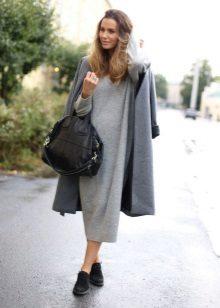 Kabát na dlouhé šaty