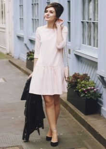 Slip On Waist Dress