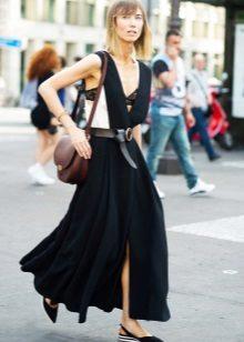 Tilbehør til en lang kjole