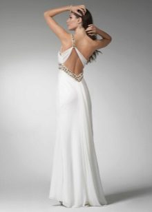Backless dress greek