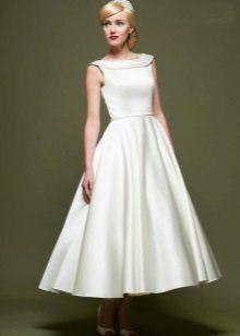 Vestido de noiva no estilo dos anos 60