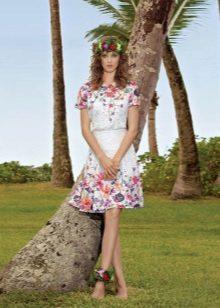 Boho maalaismainen mekko