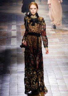 Boho-tyylikäs hihaton mekko