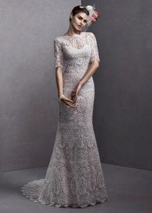 Vestuvių suknelė iš guipure