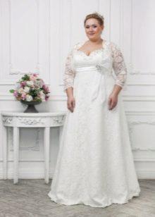 Rochie de nunta pentru plin