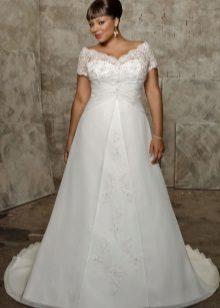 Didelė vestuvių suknelė