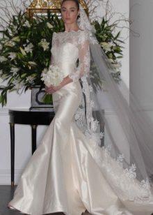 Vestuvių suknelė undinė