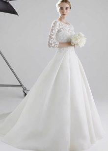 Vestuvinė suknelė uždarė siluetą