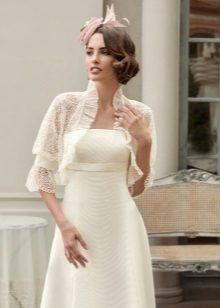 Bolero į vestuvių suknelę