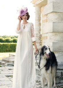 Căptușeală ușoară pentru rochia de mireasă