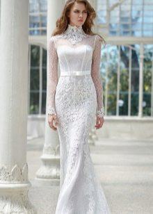 Vestuvių suknelė tiesi