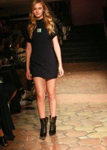 Megzta juoda suknelė
