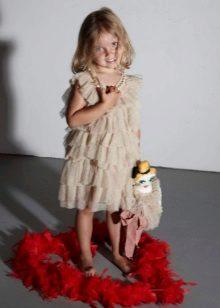 Többszintű ruha lányoknak