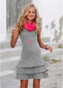Rövid ruha, harisnyanadrág lányoknak 12-14 év