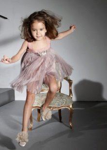 Tervező chiffon ruha lányoknak