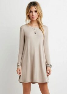 Fashionable dress A-line 2016