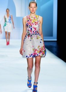 Fashionable summer dress 2016