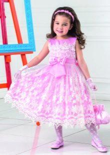 Vestido de baile elegante para meninas