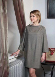vapaa tweed-mekko