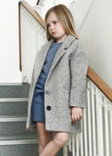 Outono vestido para a menina de 10-12 anos