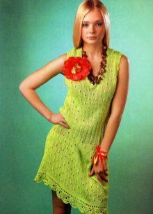 Crochê vestido de crochê para adolescente