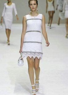 Vestido de malha de verão para adolescente
