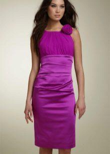 Vestido para adolescente roxo