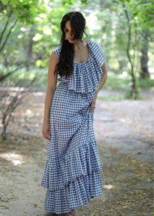 vestido de cambraia