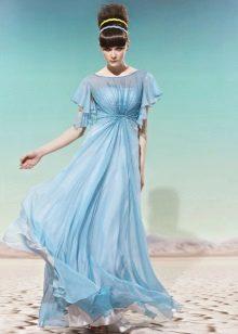 kreikkalainen organza-mekko
