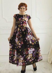 tyylikäs poplin-mekko