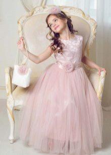 Vestido rosa para formatura 4 aulas