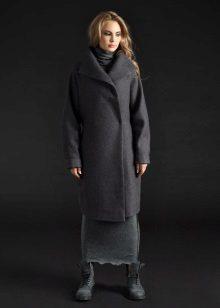 מעיל עבור שמלת חורף ארוכה