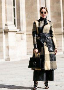 Coat for a long dress
