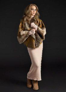 מעיל פרווה קצר עד שמלת חורף ארוכה