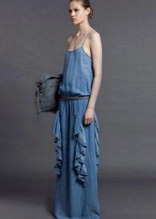 Bolsa para denim vestido de verão