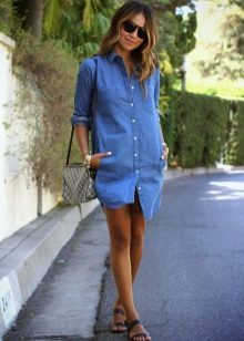 Denim Shirt Dress Accessories