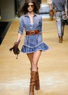 Brown jeans denim dress accessories