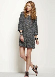 Pulseiras de vestido cinza