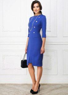 Bag to blue dress-case