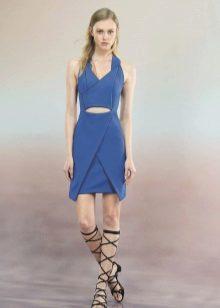 Gladiators to blue dress
