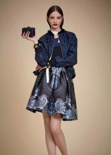 Jacket to blue dress
