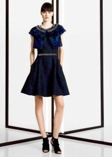bolero to blue dress