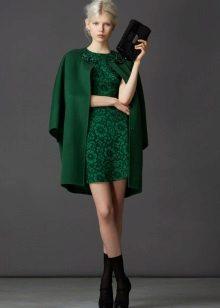 Acessórios para vestido de renda verde