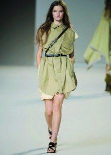 Cinto para o vestido verde